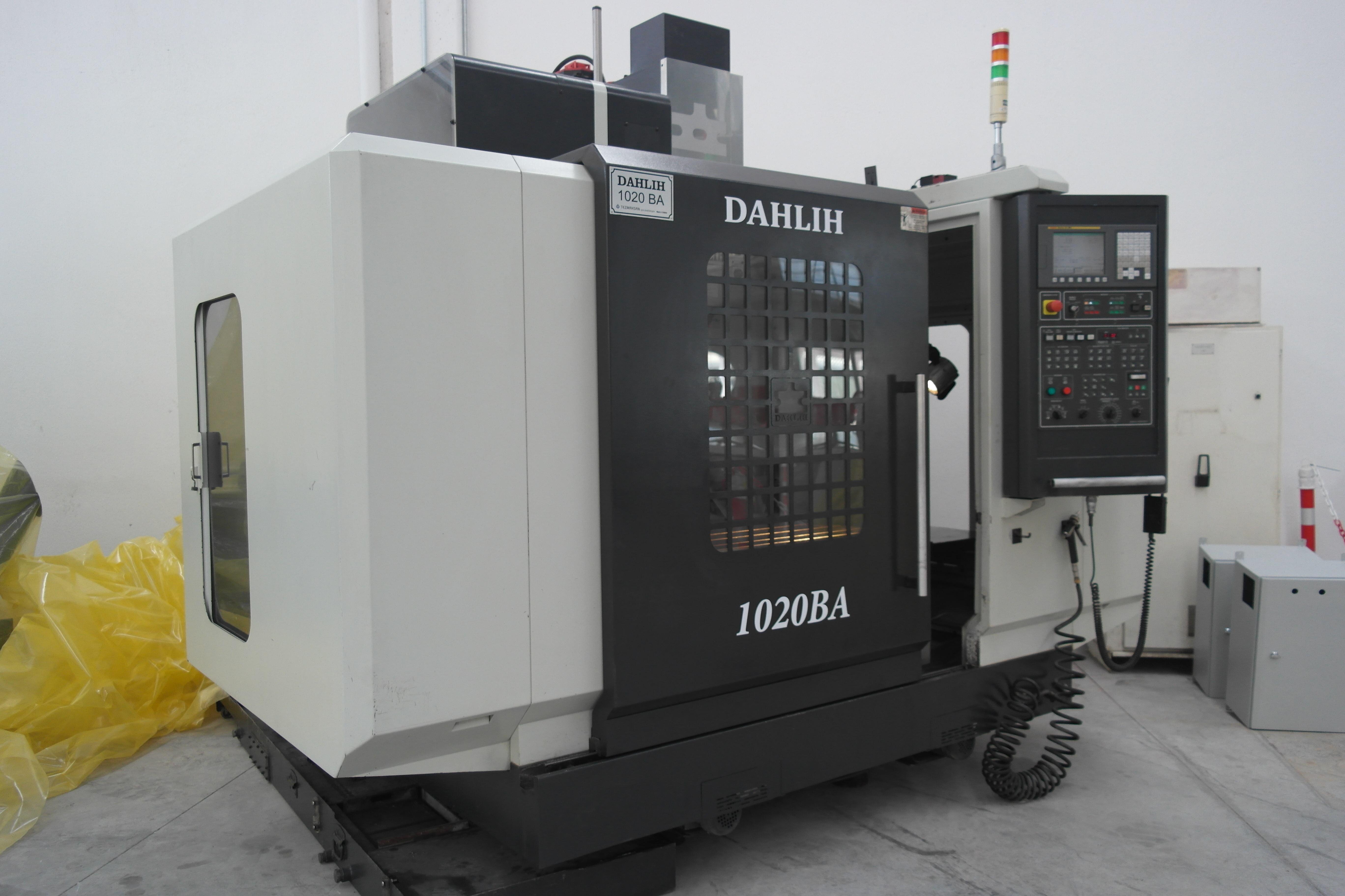 DAHLIH MCV-1020BA 2.el Cnc Dik İşleme Merkezi