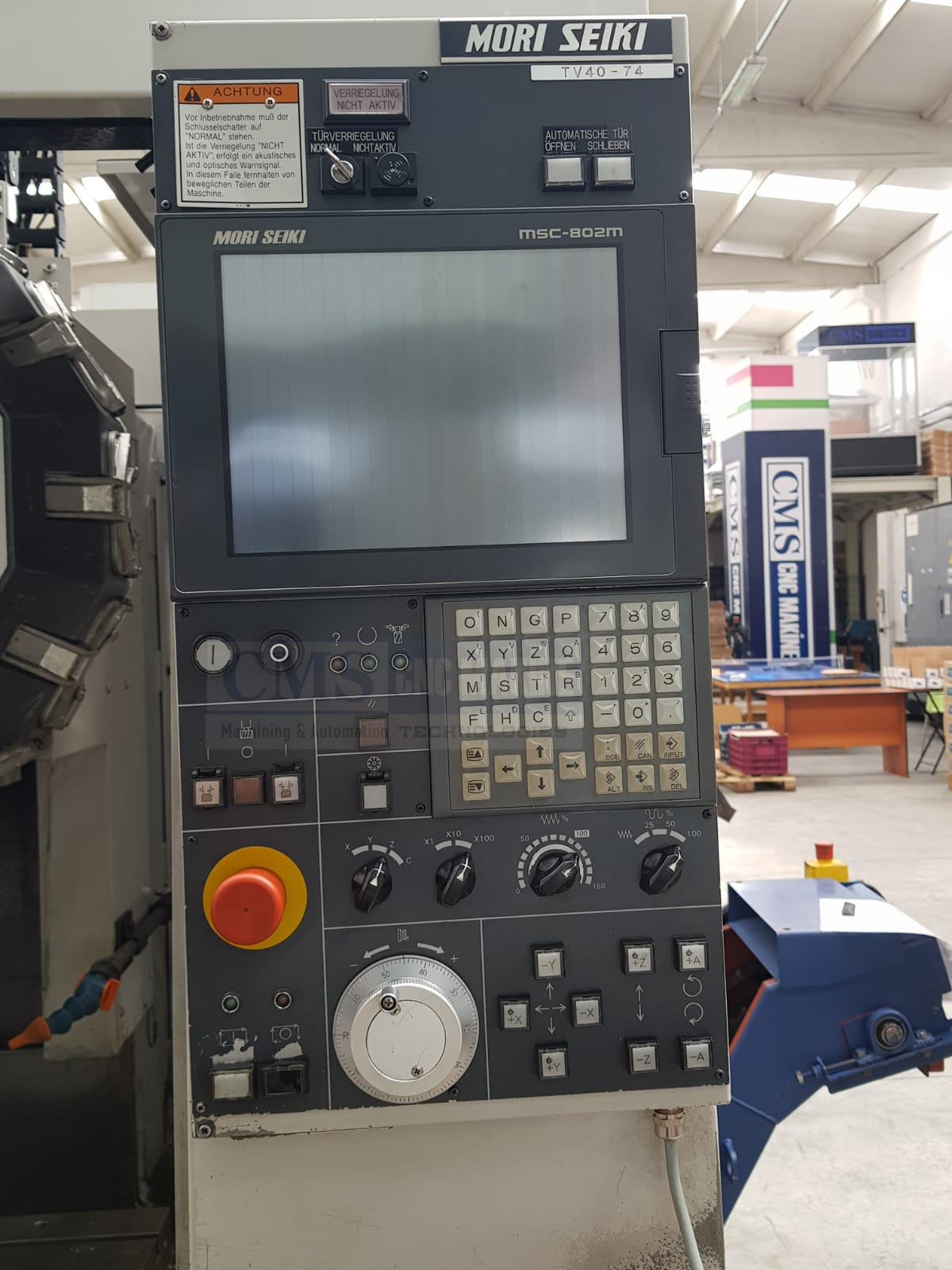 2.El Mori Seiki TV-40 Cnc Tapping Center