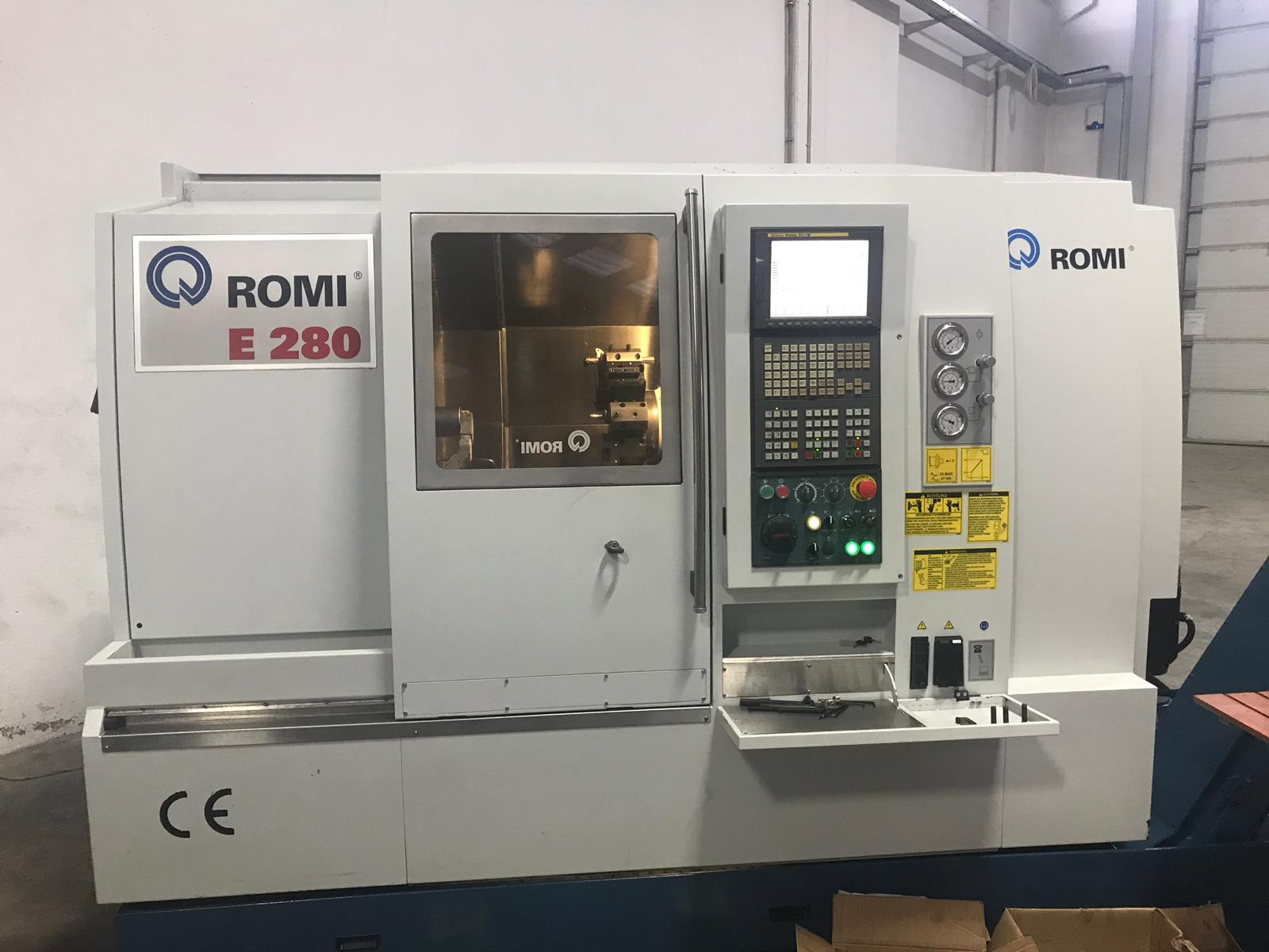 "Romi E280 10"" C Eksenli Cnc Torna"