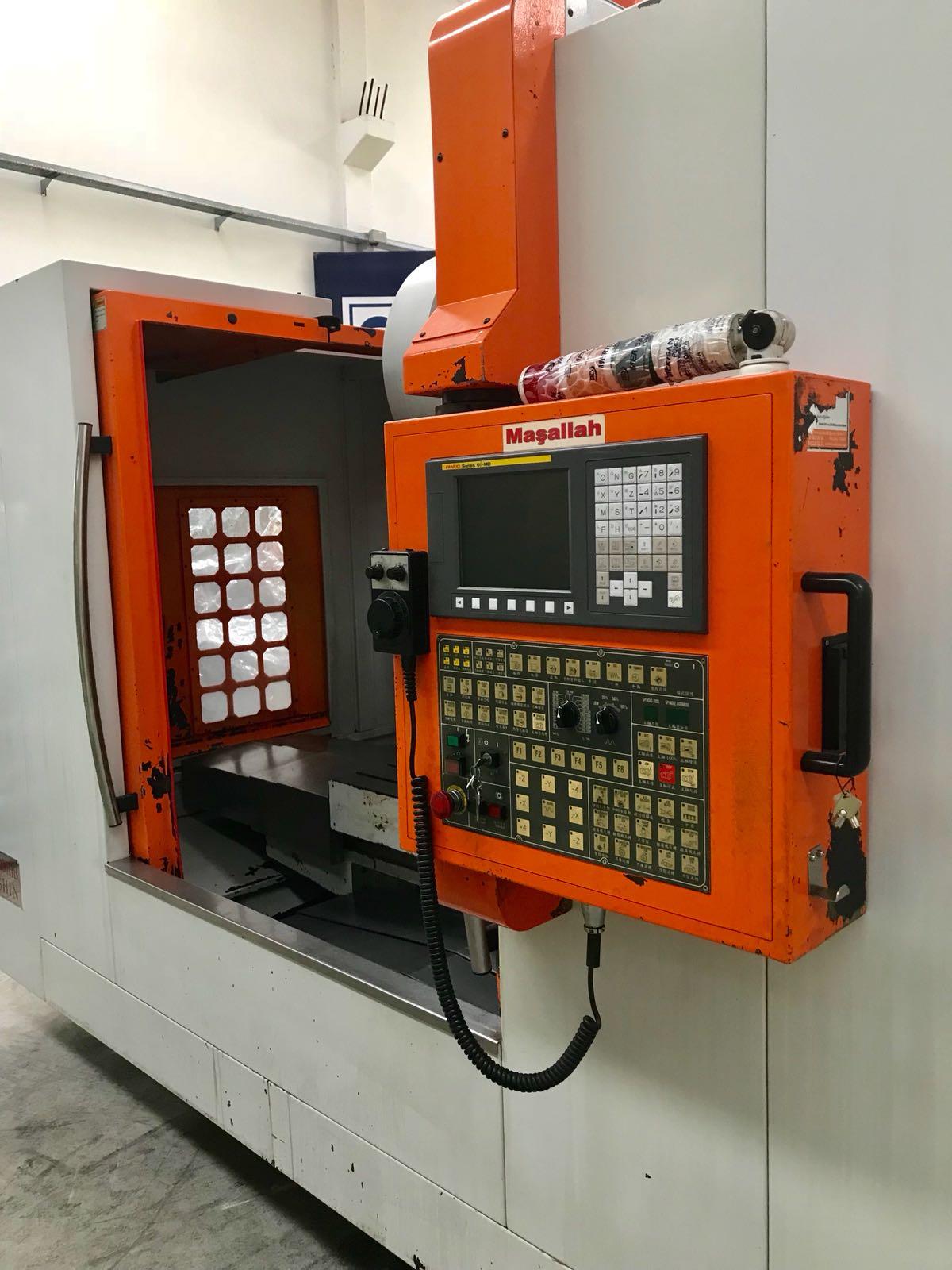 Sunmar MCV-1000HB 2.El Cnc Dik İşleme