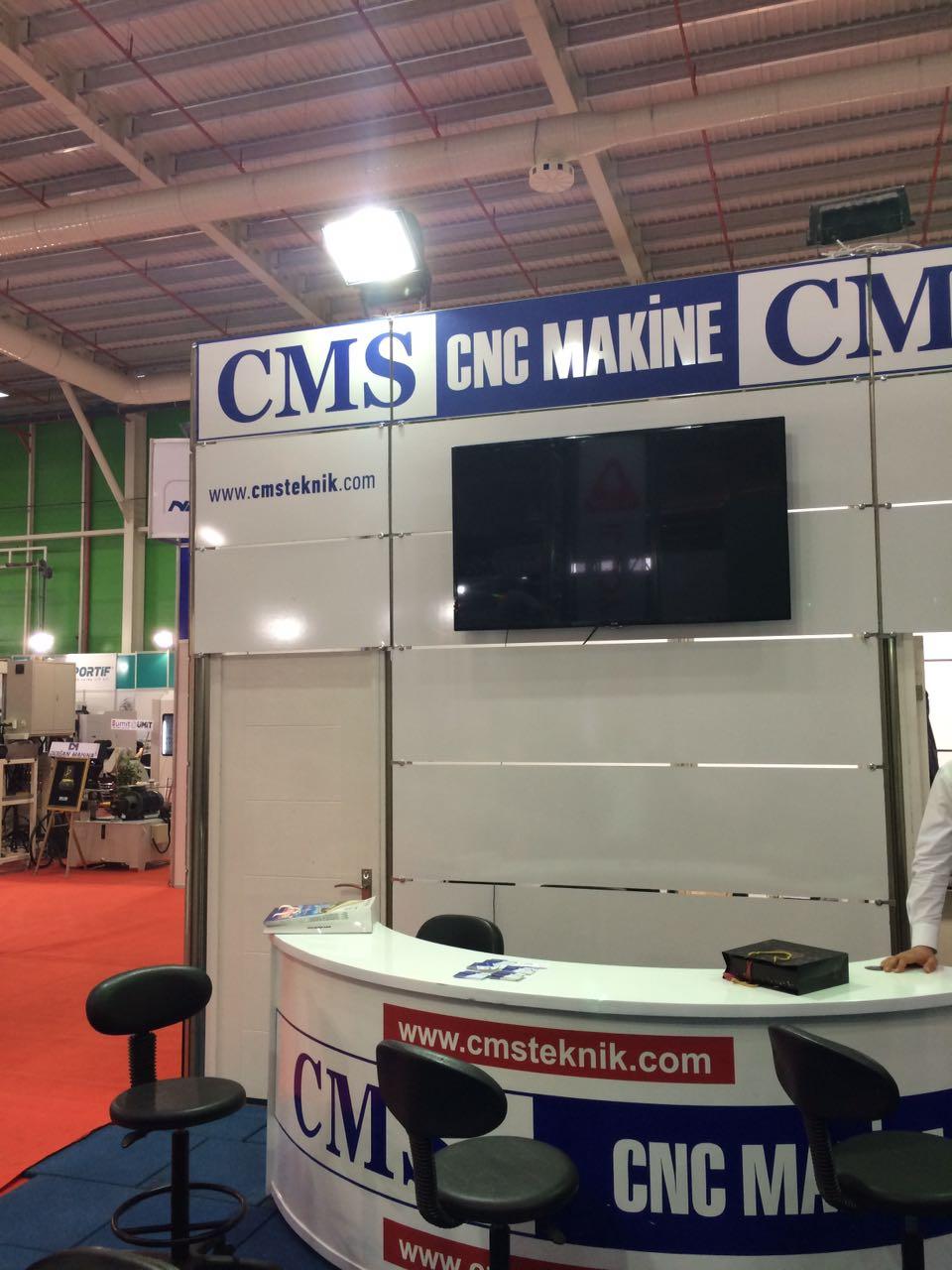 #konmak2017 #cmscncmakine cms cnc makine fuar standı