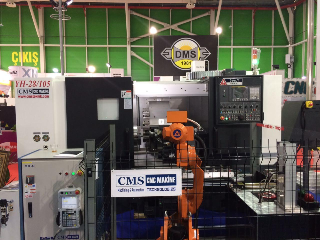 #konmak2017 #cmscncmakine youji yh-28 ölçme robotu